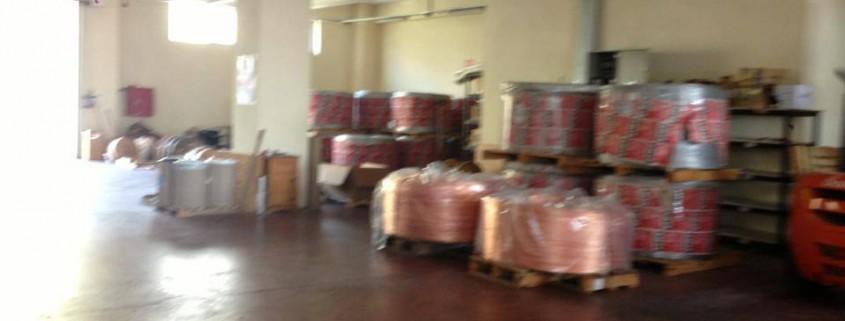 Taşınmaya hazır fabrika malzemeleri