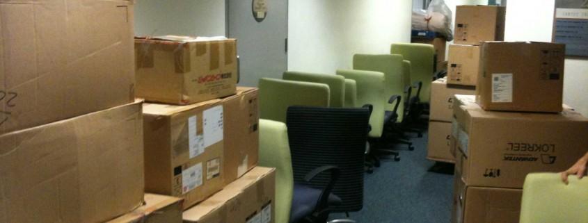 Taşınmaya hazır ofis